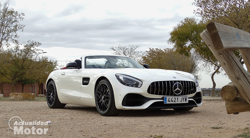 Test Mercedes-AMG GT Roadster