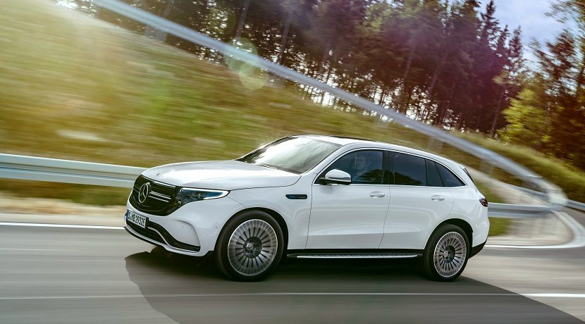 News from Mercedes in 2019 EQC