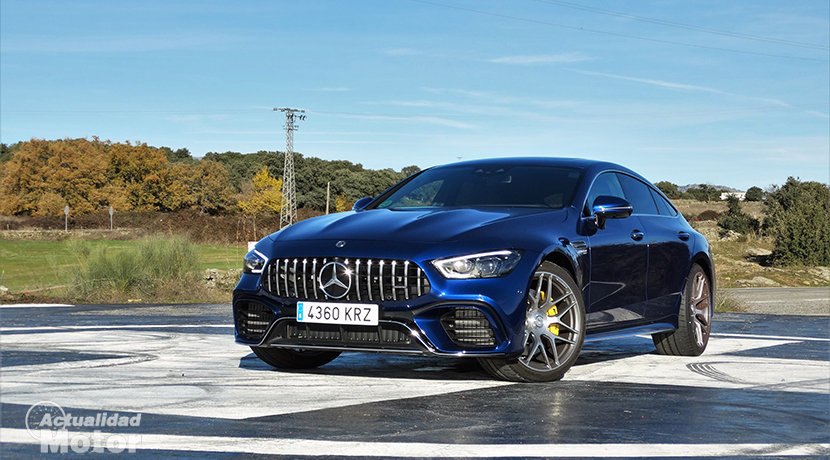 Test Mercedes-AMG GT 63 S 4 Doors Coupé
