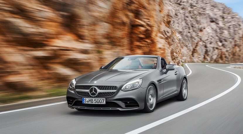 News from Mercedes in 2019 SLC Class