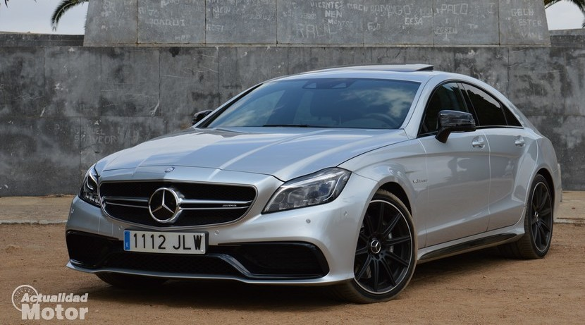 Test Mercedes CLS 63 AMG front profile