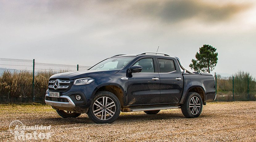 Test of the Mercedes X-Class