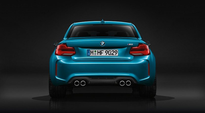 Rear of the BMW M2 Gran Coupe
