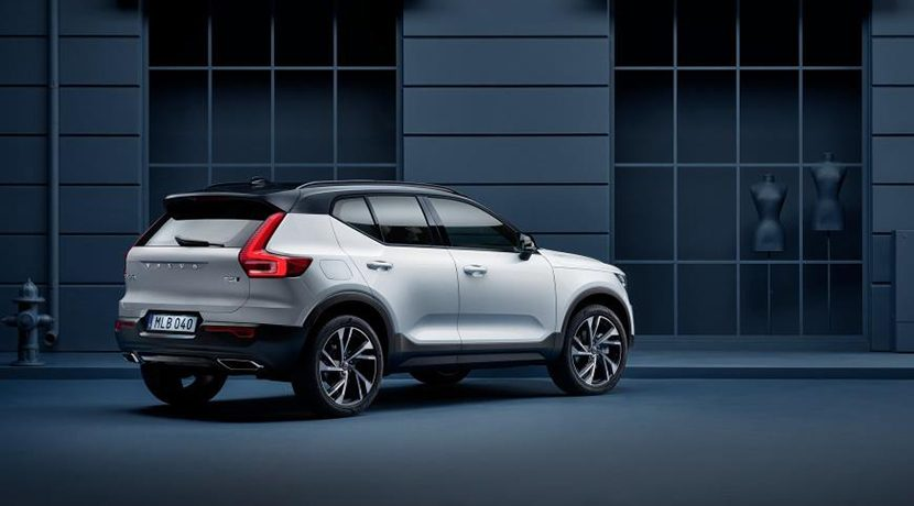 Electric cars of 2019 Volvo XC40